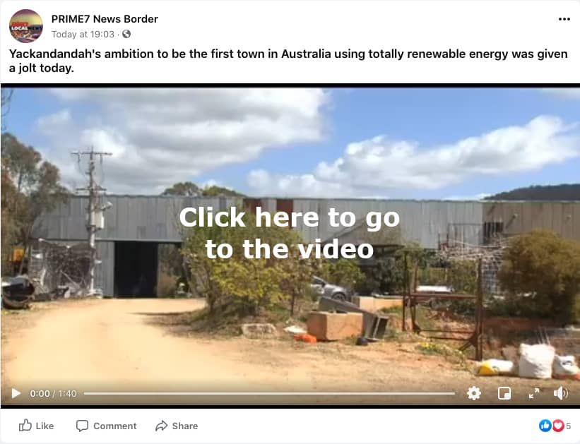 Image of the PRIME7 News video